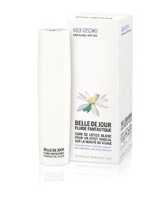 La gama antiedad Belle de Jour de Kenzo crece con el Fluido Fantástico para regular el ritmo celular. ¿Queréis dar un poco de paz a vuestra piel?
