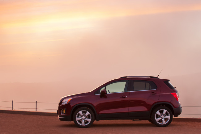 Chevrolet Trax 2013, vista lateral