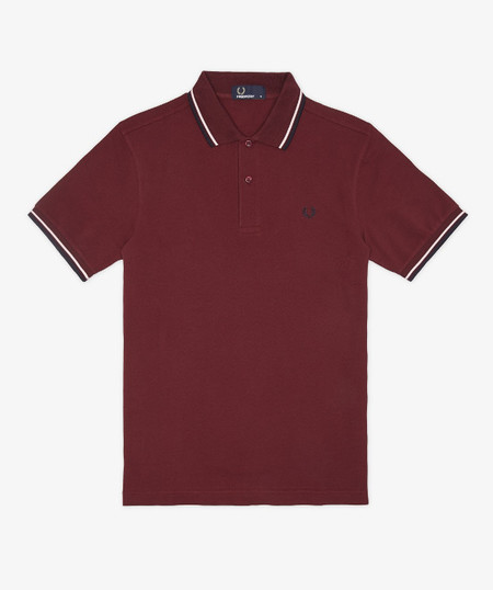 polo granate fred perry