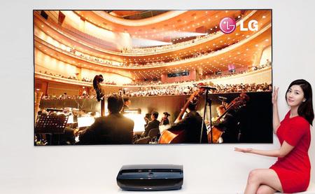 LG Cinema Beam TV, un proyector láser de 100 pulgadas con su propio sintonizador de TV