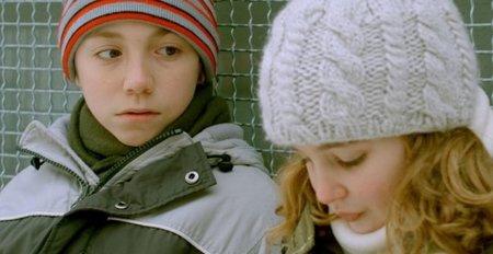 Émilien Néron y Sophie Nélisse, los niños principales de la película