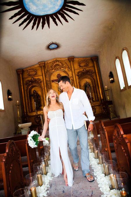 Renovar los votos está de moda: LeAnn Rimes y Eddie Cibrian se re-casan