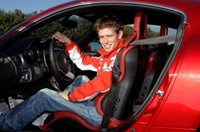 Casey Stoner prueba el Alfa 8C Competizione