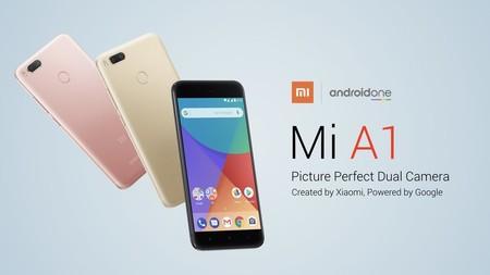 Xiaomi Mi A1 Android One, en versión de 64GB, desde España a precio de China: 167 euros con este cupón