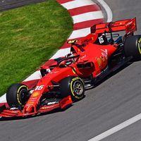 Charles Leclerc aprovecha el accidente de Hamilton para dominar en Canadá y Carlos Sainz acaba cuarto