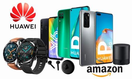 Smartphones, auriculares, relojes deportivos e interesantes packs a los mejores precios: ofertas Huawei en Amazon