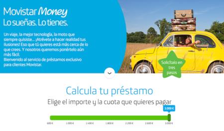 Movistar Money, el operador ahora también concede préstamos personales rápidos a sus clientes