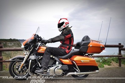 Harley-Davidson Ultra Limited FLHTK, prueba (conducción en ciudad y carretera)