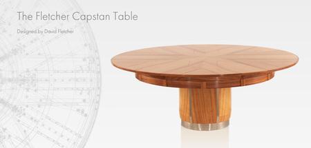 Capstan Table, la mesa extensible que se despliega sola