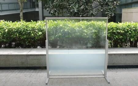 Esta ventana líquida se vuelve opaca para bloquear los rayos del Sol: dicen que puede reducir hasta el 45% del consumo de energía