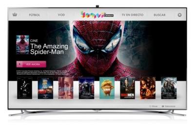 Yomvi se mueve a los televisores de Samsung