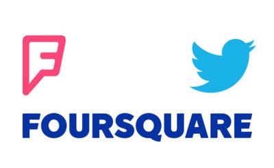 Twitter se alía con Foursquare para mejorar la ubicación de tweets