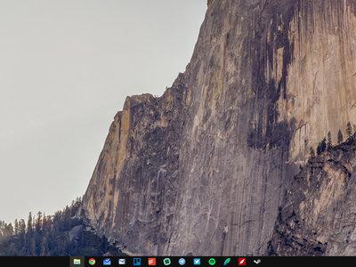 Cómo personalizar todos los iconos de la barra de tareas en Windows 10