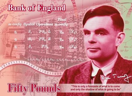 El rostro de Alan Turing ilustrará los billetes de 50 libras a partir de 2021