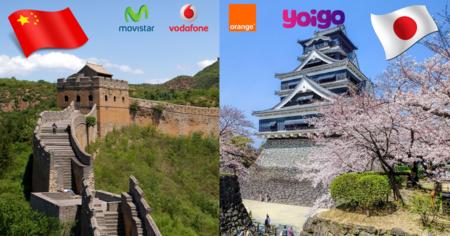 ¿Qué operador ofrece las tarifas de roaming más baratas para viajar a China o Japón?