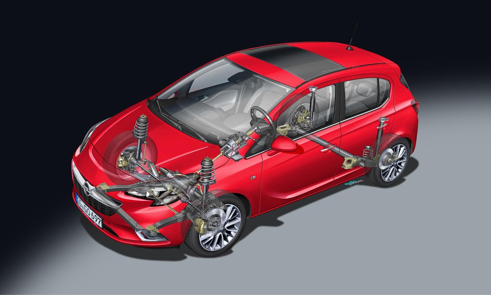 Foto de Opel Corsa (comparativa) (19/47)