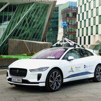 Google Street View estrena su primer coche eléctrico: un Jaguar I-PACE que actualizará Google Maps