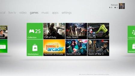 El nuevo dashboard de Xbox 360 estará disponible el 6 de diciembre