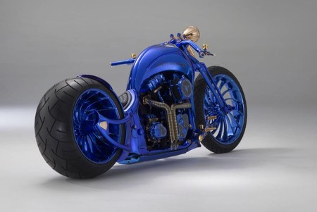 Harley Davidson Bucherer Blue Edition 1