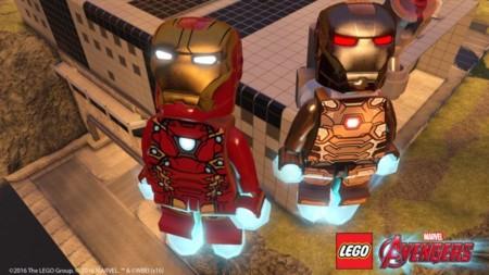 Lego Marvel Vengadores Iron Man