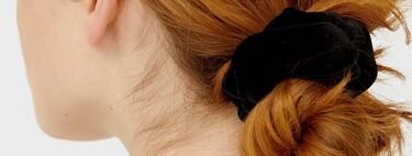En diademas, horquillas o coleteros: el terciopelo se vuelve tendencia en nuestros accesorios de pelo y los de Parfois, Lefties y C&A son ideales