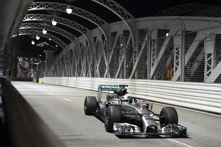 GP Singapur: una de cal y una de arena (carrera)