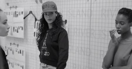 Se va despejando la incógnita, Rihanna avanza en vídeo su colección para River Island. ¿Triunfará?