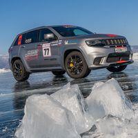 Jeep Grand Cherokee Trackhawk impone un nuevo récord de velocidad en nieve