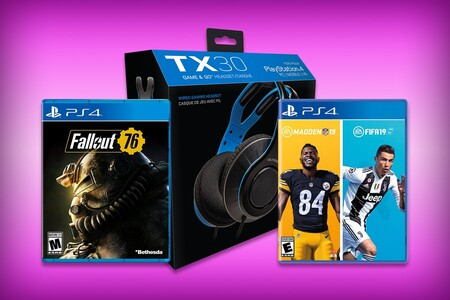 Estos paquetes incluyen audífonos VoltEdge y juegos para Xbox o PS4 por tan solo 399 pesos en Amazon México