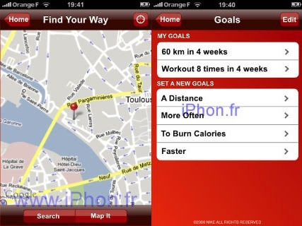 Nike+ para iPhone
