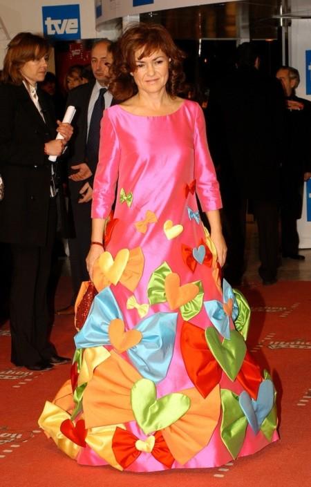 Carmen Calvo Gala Goya 2006 Agatha Ruiz Prada