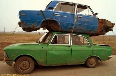 Los vehículos más extraños del mundo