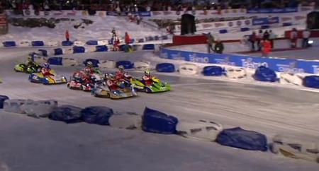Fernando Alonso gana la habitual carrera de karts en el Wrooom