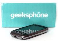 GeeksPhone Zero, análisis (I)
