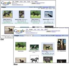 Rediseño del buscador de imágenes de Google
