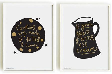 Decora tu cocina con estilo gracias a estas ilustraciones a medida