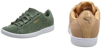 Podemos hacernos con estas zapatillas Puma Vikky Ribbon SD P desde 19,95 euros en Amazon