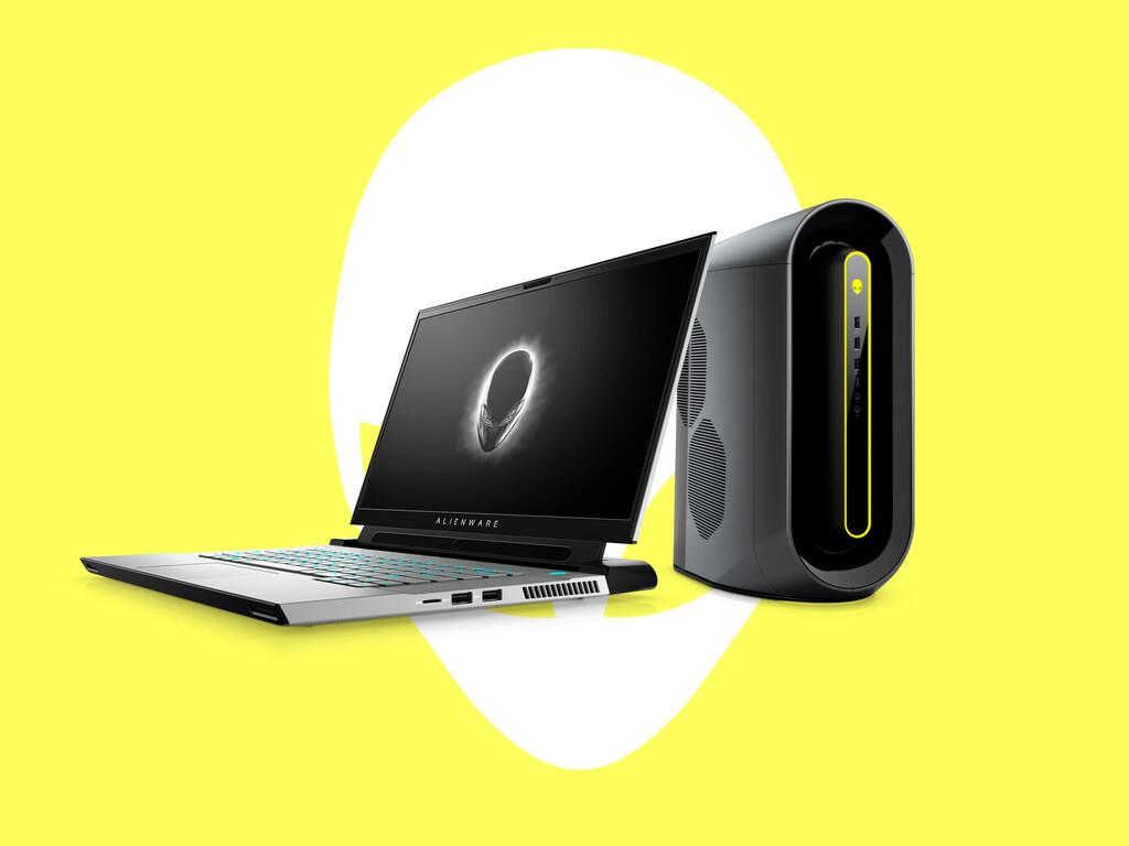 Los nuevos Dell Alienware m15 y m17 R4 llegan con tasas de refresco de hasta 360 Hz y junto a un nuevo Aurora con Ryzen 5000 de AMD