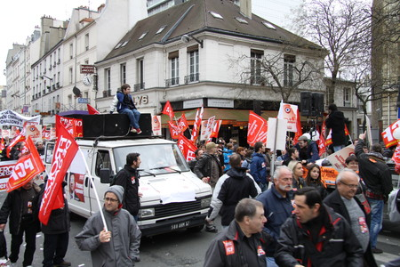 French Communist Party Meeting In Paris 2012 25