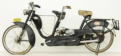 Ciclomotor tándem Eysink Renata 50cc Model B de 1956