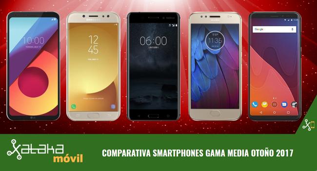 Comparativa smartphones de gama media para las masas: buena experiencia y precios ajustados