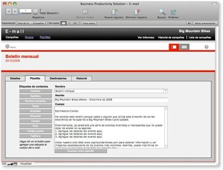 FileMaker mailing