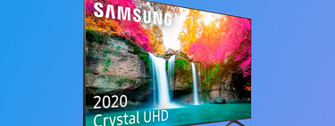 "La Cyber Week de MediaMarkt deja la Smart TV Samsung UE65TU7175 de 55"" baratísima, por 579 euros"