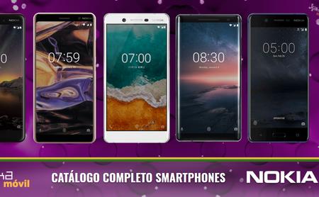 Así queda el catálogo completo de smartphones Nokia tras las novedades presentadas en el MWC 2018