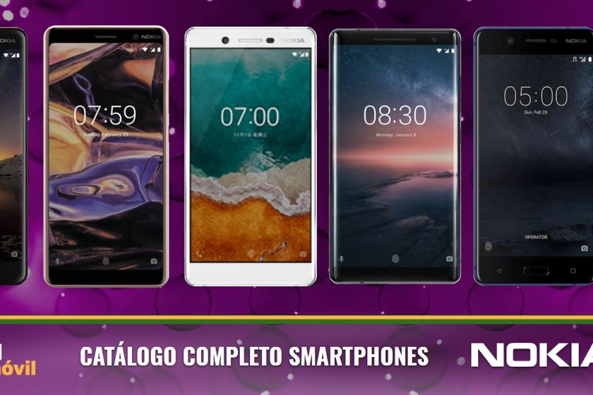 9d676a6bf1e Catálogo móviles Nokia 2018