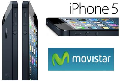 Precios del iPhone 5 con Movistar