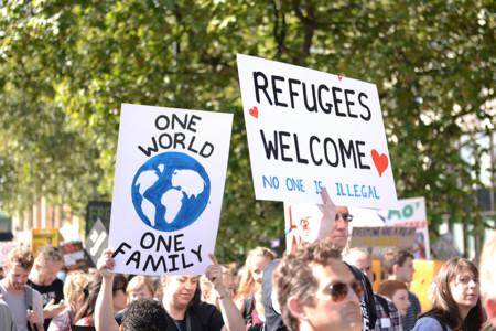 Refugiados Londres