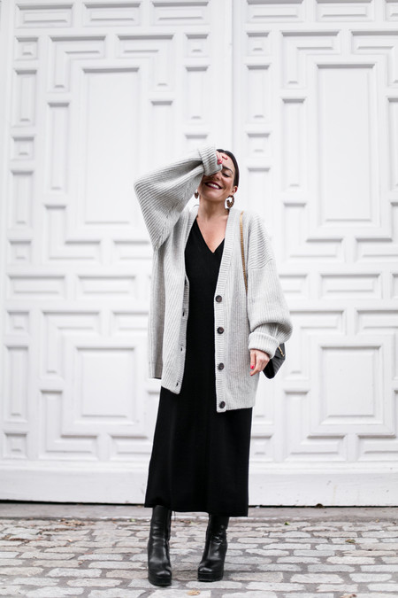 Combinar Vestido Midi Con Abrigo 05
