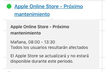 Cierre Apple Store