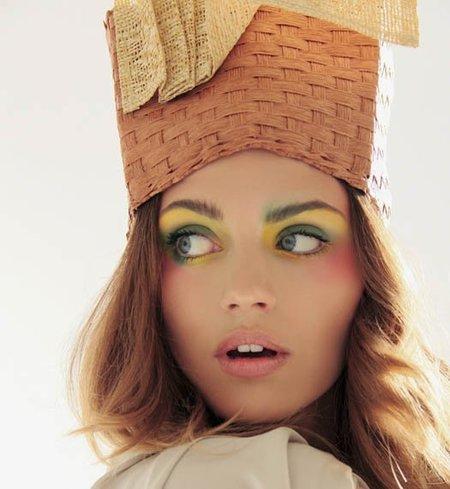 Arco iris de sombras para la Semana de la Moda de Nueva York 2010: Toni Francesc